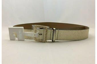Michael Kors Women's Golden Buckle Belt