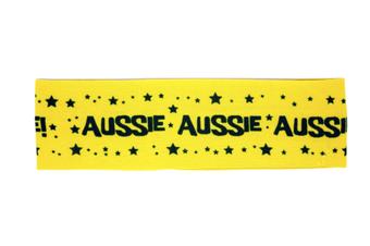 Australian Headband [Colour: Aussie Yellow]