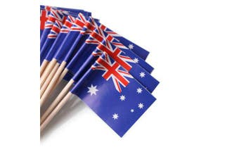 Australian Flag Toothpicks - 100 pack
