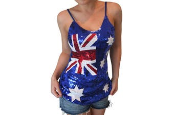 Australian Sequin Singlet Top