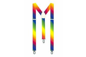 Rainbow Suspenders - Paint Fade