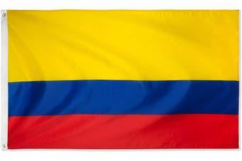 Large Colombian Flag 90cm x 150cm - 3ft x 5ft