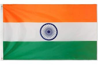 Large Indian Flag 90cm x 150cm - 3ft x 5ft