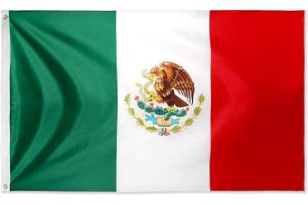 Large Mexican Flag 90cm x 150cm - 3ft x 5ft
