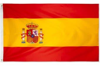 Large Spanish Flag 90cm x 150cm - 3ft x 5ft