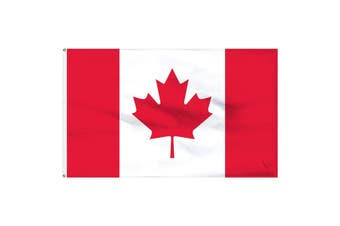 Large Canadian Canada Flag 90cm x 150cm - 3ft x 5ft