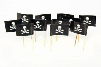 Pirate Flag Toothpicks [Count: 50]