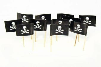 Pirate Flag Toothpicks [Count: 100]