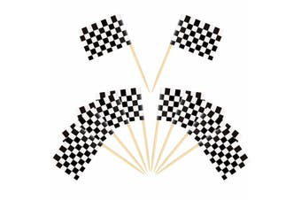 Checkered Flag Toothpicks [Count: 50]