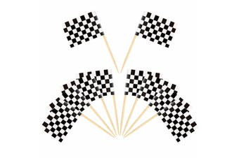 Checkered Flag Toothpicks [Count: 200]