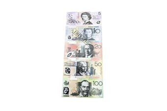 Australian Money Souvenir Notepad [Note: All]