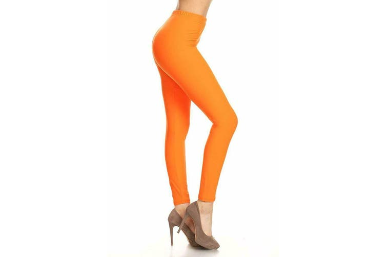 Leggings - Various Colours [Neon Orange]