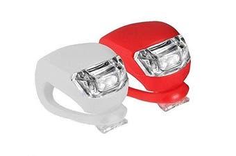Front & Back Frog Bicycle LED Lights Bike Safety Light