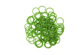 Hair Ties [Colour: Fluro Green]