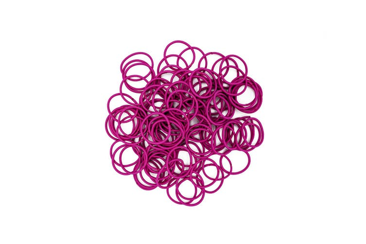 Hair Ties [Colour: Hot Pink]