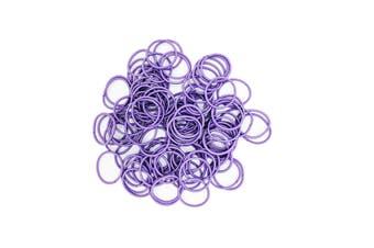 Hair Ties - 50 pack [Colour: Purple]