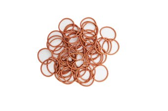 Hair Ties - 50 pack [Colour: Coral]