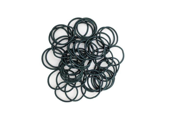Hair Ties - 50 pack [Colour: Dark Green]