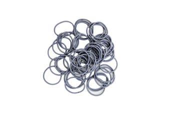 Hair Ties - 50 pack [Colour: Grey]