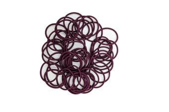 Hair Ties - 50 pack [Colour: Maroon]