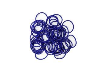 Hair Ties - 50 pack [Colour: Royal Blue]