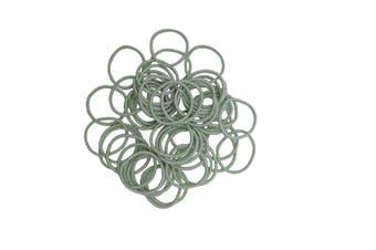Hair Ties - 50 pack [Colour: Sea Foam Green]