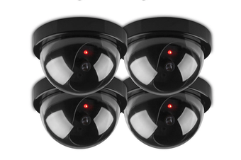 Wireless Fake CCTV Camera Dome - 4 pack