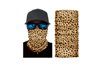 Face Shield Mask [Pattern: Cheetah Print]