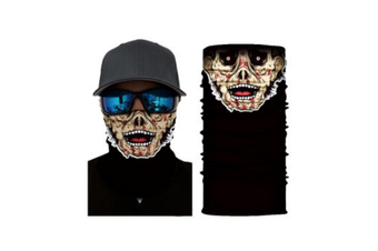 Face Shield Mask [Pattern: Zombie]