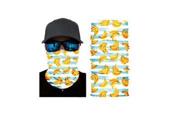 Face Shield Mask [Pattern: Bananas]