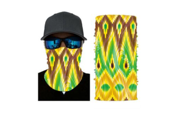Face Shield Mask [Pattern: Trippy Diamond]