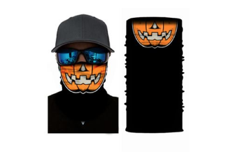Face Shield Mask [Pattern: Halloween Pumpkin]