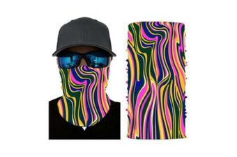 Face Shield Mask [Pattern: Swirl]