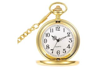 Vintage Pocket Watch [Colour: Gold]