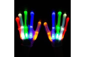 LED Gloves [Colour: Multi]