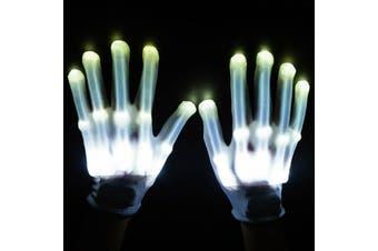 LED Gloves [Colour: White]