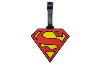 Luggage Tag [Design: Superman Logo]