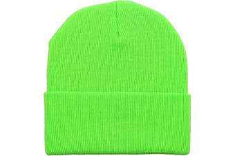 Basic Beanie [Colour: Neon Green]