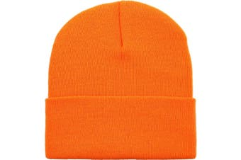 Basic Beanie [Colour: Neon Orange]