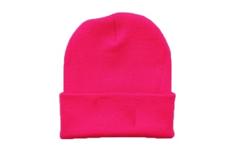 Basic Beanie [Colour: Neon Pink]