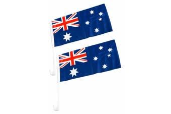Australian Car Flag - 2 pack