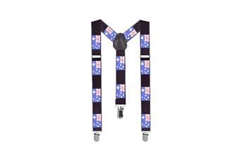 Australian Flag Suspenders