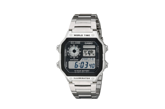 Casio AE1200WHD-1A Watch Digital Sports Stainless Steel AE1200