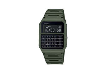 Casio Army Green Calculator Watch CA53WF-3 CA53