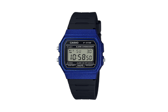 Casio Blue Casual Digital Watch F91WM-2A