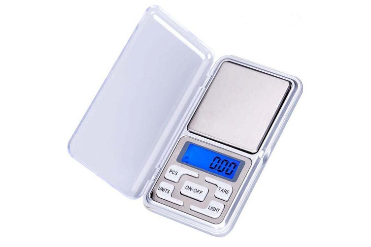 Pocket Mini Digital Kitchen Scales Jewellery Electronic Herbs - 0.01g to 200g