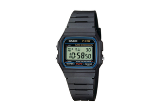 Casio Black Casual Digital Watch F91 F91W-1