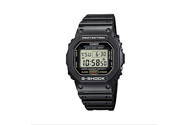 Casio G-Shock Classic Black Digital DW5600E-1 Watch DW5600