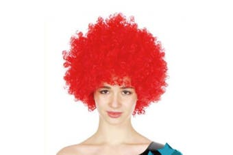 Afro Wig - Red