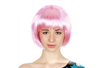 Bob Wig - Light Pink